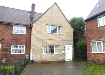 Thumbnail 3 bed end terrace house for sale in Woodview, Renishaw, Sheffield
