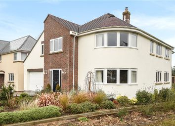 Thumbnail 4 bed detached house for sale in Brookhill Gardens, Chard Road, Axminster, Devon