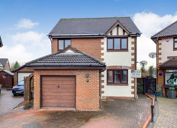 Thumbnail 3 bed detached house for sale in Oakdene Crescent, Newarthill