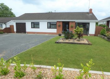 Thumbnail 3 bed detached bungalow for sale in Pencnwc Isaf Estate, Cross Inn, Nr New Quay