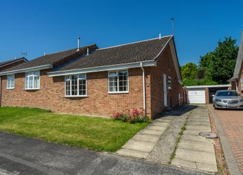 Thumbnail 2 bed semi-detached bungalow for sale in Barons Crescent, Copmanthorpe, York