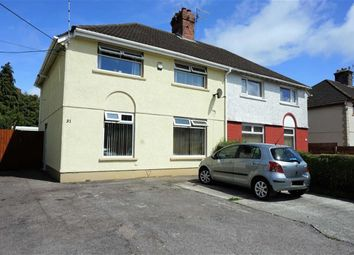 Thumbnail 3 bed semi-detached house for sale in Brynhyfryd Road, Swansea
