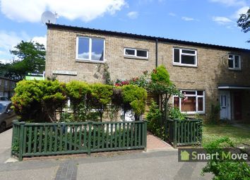 Thumbnail 3 bed end terrace house to rent in Clipston Walk, Peterborough, Cambridgeshire.