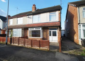 Thumbnail 3 bed semi-detached house for sale in Cavendish Road, Skegness