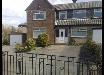 Thumbnail 4 bed semi-detached house to rent in Hollingwood Lane, Bradford