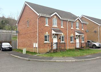 Thumbnail 3 bed semi-detached house for sale in Cwrt Pant Yr Awel Lewistown, Bridgend, Bridgend
