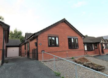 Thumbnail 2 bed detached bungalow for sale in Little Henfaes Drive, Welshpool