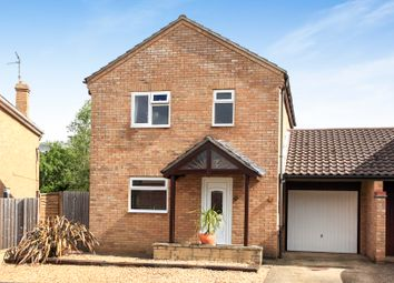 Thumbnail 3 bed link-detached house for sale in Ambleside Gardens, Peterborough
