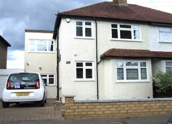 Thumbnail 4 bed semi-detached house to rent in Ridgeview Road, Whetstone, London