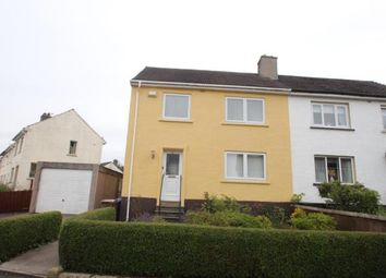 Thumbnail 3 bed semi-detached house for sale in Lochinver Crescent, Paisley, Renfrewshire