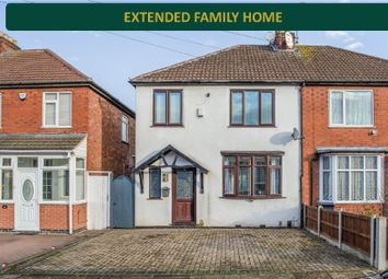 Thumbnail 3 bedroom semi-detached house for sale in Collingham Road, Rowley Fields, Leicester