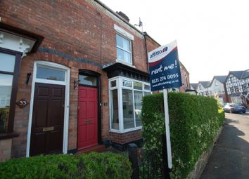 Thumbnail 2 bed terraced house to rent in Station Road, Harborne, Birmingham