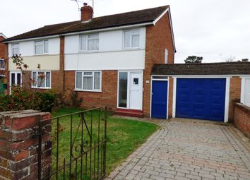 Thumbnail 3 bed semi-detached house for sale in Malone Road, Woodley