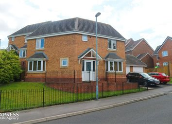 Thumbnail 3 bed detached house for sale in Beechwood Close, Sacriston, Durham