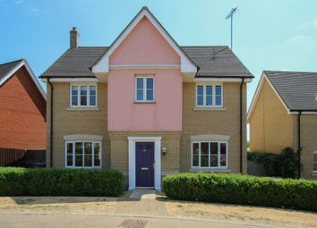 Thumbnail 4 bed detached house for sale in Bellings Road, Haverhill