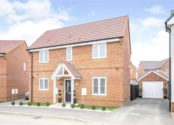Thumbnail 3 bed detached house for sale in Oxlip Way, Stowupland, Stowmarket