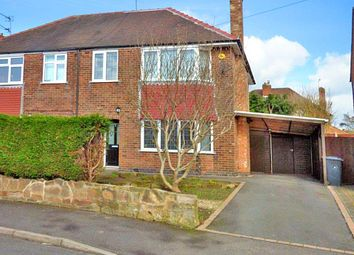 Thumbnail 3 bed semi-detached house for sale in Pingle, Allestree, Derby