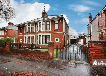 Thumbnail 3 bed semi-detached house for sale in Avondale Road, Cardiff