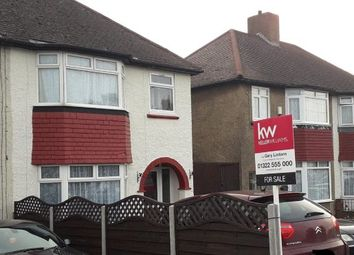Thumbnail 3 bed semi-detached house for sale in Burnham Road, Dartford, Kent