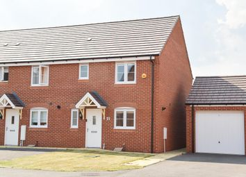 Thumbnail 3 bed end terrace house for sale in Yeats Drive, Warwick