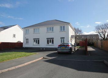 Thumbnail 3 bed semi-detached house for sale in Heol Y Cwm, Cross Inn, Nr New Quay