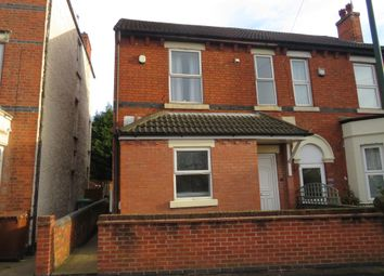 Thumbnail 2 bed flat for sale in Highbury Road, Bulwell, Nottingham
