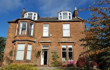 Thumbnail 5 bed detached house for sale in Holmlea, 16 Victoria Road, Dumfries