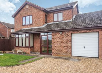 Thumbnail 3 bed detached house for sale in Alsace Close, Northampton