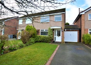 Thumbnail 3 bed semi-detached house for sale in Grebe Close, Knutsford