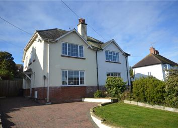Thumbnail 4 bed semi-detached house for sale in Woolbrook Road, Sidmouth, Devon