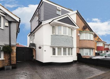 Thumbnail 4 bed semi-detached house for sale in Colyton Close, Welling