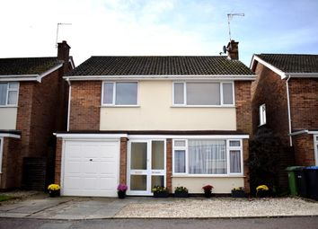 Thumbnail 4 bed detached house for sale in Rowan Drive, Lutterworth