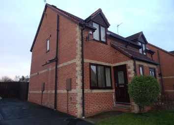 Thumbnail 2 bed semi-detached house to rent in Beech Avenue, Cramlington
