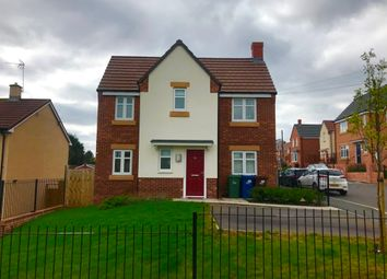 Thumbnail 3 bedroom detached house for sale in Kelvin Drive, Cannock