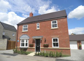 Thumbnail 4 bedroom detached house for sale in Herne Road, Oundle, Peterborough