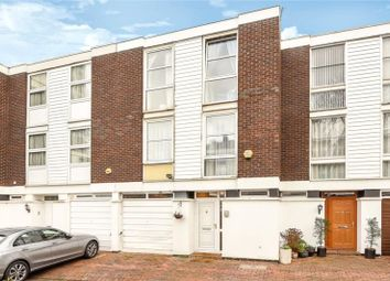 Thumbnail 4 bed terraced house for sale in Hornby Close, Swiss Cottage, London