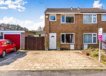 Thumbnail 2 bed semi-detached house for sale in Lawrence Way, Loughborough