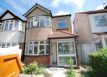 Thumbnail 3 bed end terrace house to rent in Ealing Road, Wembley, Middlesex