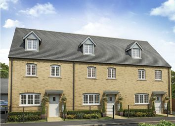 "Thumbnail 4 bedroom town house for sale in ""The Leicester"" at Balmoral Close, Northampton"