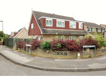 Thumbnail 3 bedroom semi-detached house for sale in Keverne Close, Nottingham