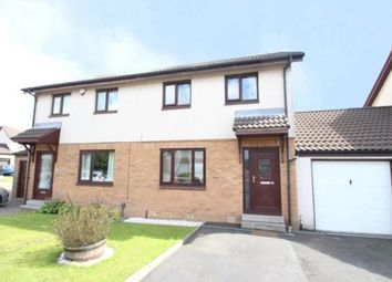 Thumbnail 3 bed semi-detached house for sale in Pennyvenie Way, Girdle Toll, Irvine, North Ayrshire
