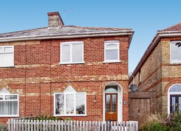 Thumbnail 2 bed semi-detached house for sale in Palmerston Road, Parkstone, Poole