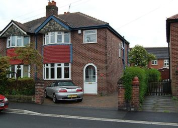 Thumbnail 3 bed semi-detached house to rent in Ash Grove, Timperley, Cheshire