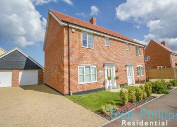 Thumbnail 3 bed semi-detached house for sale in Whiley Lane, Stalham, Norwich