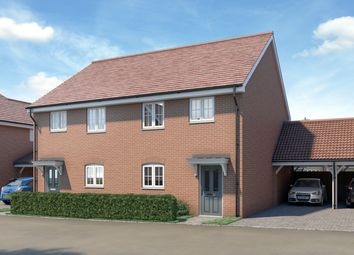 Thumbnail 3 bedroom semi-detached house for sale in Runwell Road, Runwell, Essex
