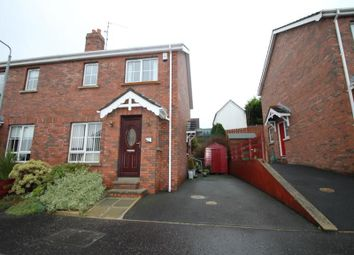 Thumbnail 3 bed semi-detached house to rent in Barban Court, Dromore