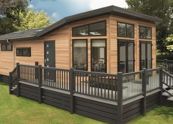 Thumbnail 2 bed mobile/park home for sale in The Lodges, Barton Road, Kettering