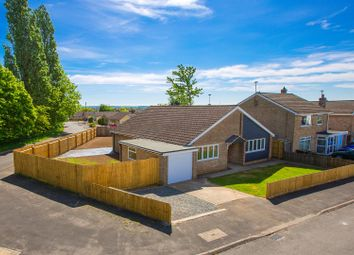 Thumbnail 3 bed detached bungalow for sale in Berwick Road, Stanion, Kettering