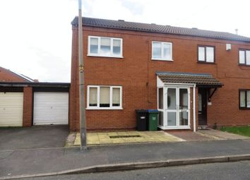Thumbnail 3 bedroom semi-detached house to rent in Wellington Street, Cradley Heath