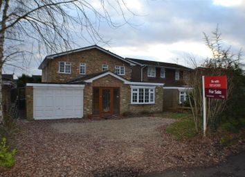 Thumbnail 4 bed detached house for sale in Silchester Road, Pamber Heath, Tadley